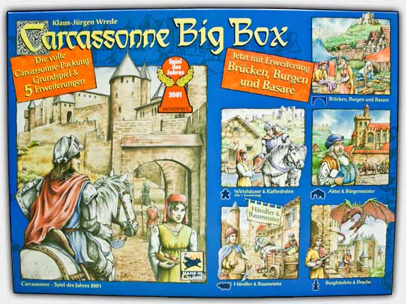Carcassonne Big Box - Package