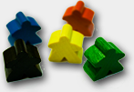 Carcassonne Followers (Meeples)